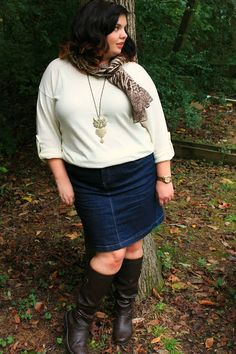 Hems for Her Trendy Plus Size Fashion for Women: Hair's the Thing