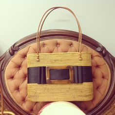 Handmade bag with buckle $225 Available at The French Market #thefrenchmarket