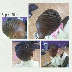 Oh yes a definite do for my princess Black Baby Hairstyles, Girls Natural Hairstyles, Natural Hairstyles For Kids, Ethnic Hairstyles, Little Girl Hairstyles, Cool Hairstyles, Little Girl Braid Styles, Kid Braid Styles, Little Girl Braids