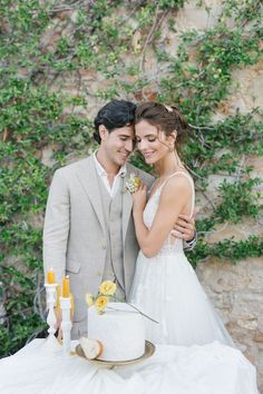 When we came across this gorgeous Pantone Yellow Wedding in the Italian countryside, we knew we had to share it! Yellow Wedding, Wedding Day, Stunning View, Most Beautiful, Yellow Pantone, Creative Wedding Cakes, Wedding Desserts, Industrial Wedding, Color Of The Year