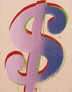 Andy Warhol (1928-1987)  Dollar Sign