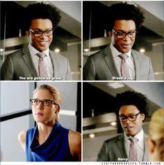 Arrow - Felicity & Curtis #4.12 #Season4