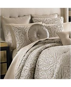 Queen New York Astoria Comforter Set Comforter Sets, Cheap Bed Sheets, Bed Linens Luxury, Luxury Bedding Sets, Bed, King Size Comforters, Modern Luxury Bedroom, Luxury Bedding, Bedding Collections