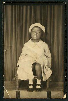 Photobooth Photo Souvenir of African American Girl  | eBay