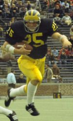 Rob Lytle, Michigan Man, 1973-76 - first-team All-America honors, Big Ten Most Valuable Player and earned first-team all-conference selection during the 1976 season. He placed third in the 1976 Heisman Trophy balloting behind Pitt's Tony Dorsett and Southern California's Ricky Bell; member of three Big Ten Championship teams and finished his four-year career with a 38-5-3 overall record and 28-3-1 mark in conference play