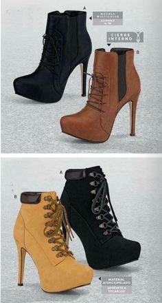 42a19258 Las 166 mejores imágenes de Catalogos Andrea | Ropa, Zapatos, Moda ...