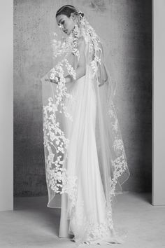 La collection bridal printemps-été 2018 d'Elie Saab
