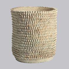 afrikani : 'Porcupine' basket designed by Binky Newman. www.designafrika.co.za