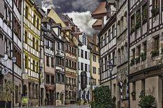 Weißgerbergasse, Nuremberg, Alemania