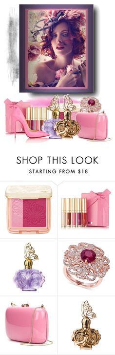 """Pink dreams #1."" by babysnail ❤ liked on Polyvore featuring La Vie en Rose, Paul & Joe Beaute, Anna Sui, Effy Jewelry, Rocio, Christian Louboutin, Pink, christianlouboutin, annasui and rocio"
