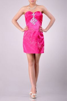 Sweetheart Neckline Strapless Cocktail Dress Price : $179.99 Free Shipping!
