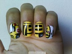 School Bus Nails