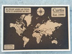 Push pin world map cork board map cork map includes 100 map pins custom push pin travel map world map push pin push pin map sciox Images