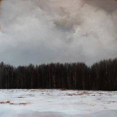 "Ever Wonder 24"" x 24"" oil on panel Adam Hall"