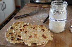 Gluten Free Naan!  Perfect for our homeschool study of all things India    Yummy!