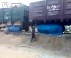 Train unload