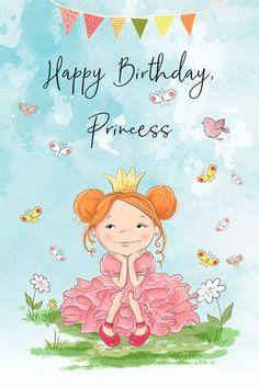 Happy Birthday Little Girl, Happy Birthday Greetings Friends, Birthday Wishes Flowers, Birthday Wishes For Kids, Happy Birthday Kids, Happy Birthday Celebration, Birthday Wishes Messages, Happy Birthday Pictures, Happy Birthday Princess Images