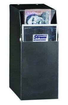 Bankjegycsapda - Strauss Metal Biztonságossá teszi a kézpénzforgalmat,  Használata csökkenti a rablás és az alkalmi lopás kockázatát