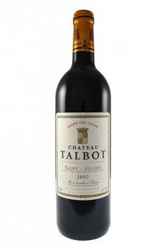Chateau Talbot Saint Julien Bordeaux Wine