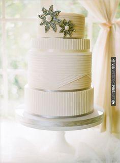 elegant wedding cake | CHECK OUT MORE IDEAS AT WEDDINGPINS.NET | #weddingcakes