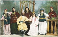 Central Asian Ethnics: Vintage Postcards with Russian Minorities