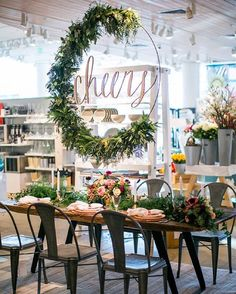 "Caroline McGah on Instagram: ""Hooary! Happy Fri-Yay lovelies!! It was such a delight to be a part of the @100_layercake & @crateandbarrel Private Registry Event last weekend! Such a great team of vendors & so fun to do the calligraphy for this epic cheers, paper goodies & event signage! Event design by @theshiftcreative who just completely rocked everything, crazy"