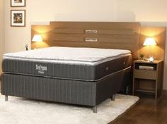 Você Merece esse Conforto! Colchão Ortobom Casal Mola 138x188cm - Physical Silver Premium