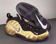 92bb0aa82fa NIKE AIR FOAMPOSITE PRO METALLIC GOLD BLACK 624041 701  nike   nikeairfoamposite  nikefoamposite  nikebasketball  nikefashionshoes   sneaker  forsale ...