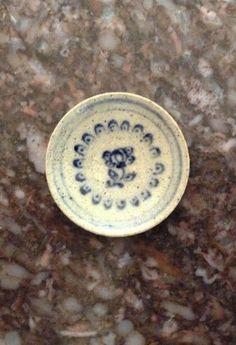 "JANE GRABER Artisan Plate 7/8"" Signed, Dated 1989 1:12 Scale Stoneware Dollhouse | eBay"