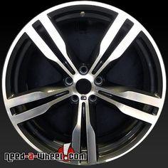 "2016 BMW 740i oem wheels for sale. 20"" Machined stock rims 86281 http://www.need-a-wheel.com/rim-shop/20-bmw-740i-oem-wheels-rims-machined-86281/ , #oemwheels, #factorywheels"