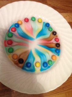 Rainbows What a fantastic Attention Autism Stage 2 activity! In Stage 2 we teach the students how to sustain their attention on an adult led activity as part of a group. You need: Skittles or M&amp…