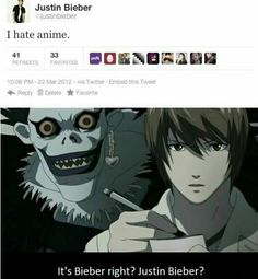OMG, this is so hilarious.  Light and Ryuk to the rescue!-- I honestly don't even watch anime, but I'll repin this a million times!