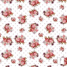 Estampa Floral Com Poas, de Nathalia Santos.
