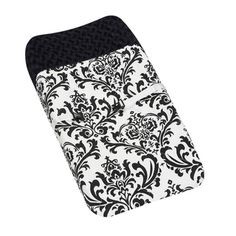Sweet JoJo Designs Black And White Isabella Baby Changing Pad Cover    Overstock.com Shopping