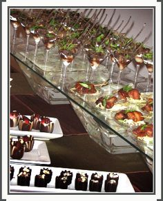 more wedding hors d'oeuvres