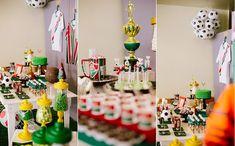 Fluminense e Brasil deram o tom da decoração; confira os detalhes em fotos
