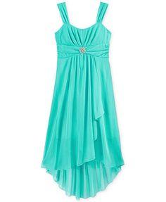 Ruby Rox Girls' High-Low Jersey Dress