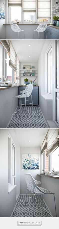 balcony interior classic design