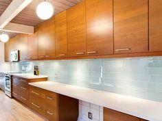 "Lush ""Vapor"" Kitchen Backsplash tile"