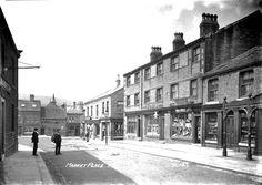 0184 Meltham Market Place c1910.