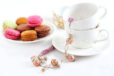 Ожерелье, бусы, розовый ожерелье, уникальный дизайн, Женская аксессуар, Украшения ручной работы, подарок для нее, Дизайнер ювелирных изделий