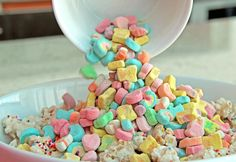 Lucky Rainbow Chex Mix | Rock UR Party Recipes