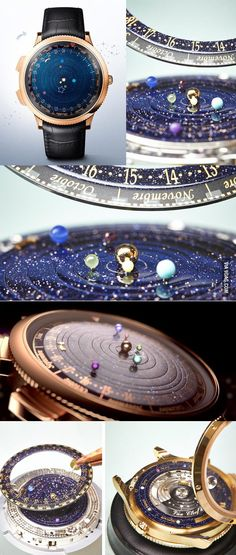 Astronomical Watch Gorgeously Depicts the Real-Time Orbits of Planets - 9GAG