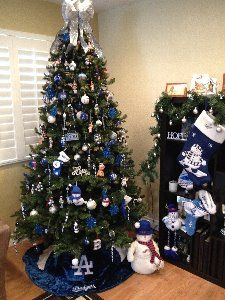 VIN SCULLY IS MY HOMEBOY: A Dodgers Christmas Tree