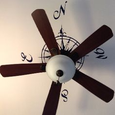 Ceiling compass. Chris could do this in his study.
