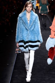 See the Fendi autumn/winter 2016 collection. Click through for full gallery at vogue.co.uk