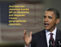 I mean geographically Japanese...