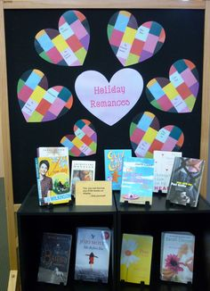 Library Displays: Holiday Romance