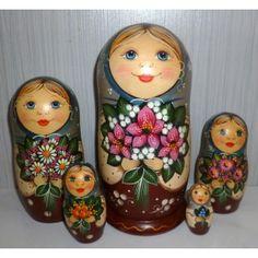 Clementine #Babushka #russiandoll #matryoshka #dollsindolls #decor #traditional