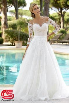 WHOLE WEDDING DRESS COLLECTION Wedding dresses by Ladybird Bridal Discover your dream wedding dress in the extensive wedding dress collection of Ladybird bridal. These affordable designer wedding dresses are stylish and have the perfect fit for any figure Wedding Dress Styles, Dream Wedding Dresses, Designer Wedding Dresses, Wedding Gowns, Tattoo Wedding Dress, Lace Weddings, Illusion Wedding Dresses, Timeless Wedding Dresses, Tule Wedding Dress